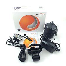 MagicShine MJ880 XM-L2 2000 Lumen LED Bike Light 6.6Ah Battery helmet mount kit