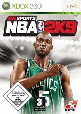 NBA 2k9 Basketball für Microsoft Xbox 360 Neu/Ovp/Deutsche Version