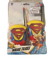 2016 SAKAR  DC SUPER HERO GIRLS SUPERGIRL WALKIE TALKIES (NEW)