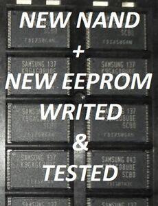 New nand k9gag08u0e + eeprom tested with UEXXD57XX