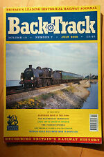 July Back Track Rail Monthly Transportation Magazines