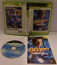 Console Game Gioco Microsoft XBOX PAL ITALIANO EA - JAMES BOND 007 NIGHTFIRE -