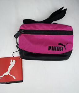 puma Actívate  Waist Bag  pink Adjustable Straps Padded Back Panel New