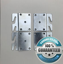 """Offset"" Hook Plates for Bed Rail Repair"