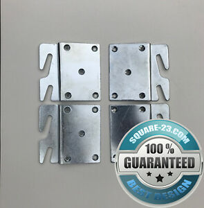 """""""Offset"""" Hook Plates for Bed Rail Repair"""