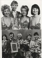 "EUROVISION SONG CONTEST 1982 - SIX  ORIGINAL 8""x6""  BBC PHOTOS."