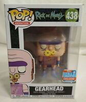 Funko Pop Gearhead Rick and Morty 438 NYCC Shared Exclusive! & Rare!