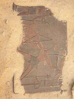 Rare Antique Ancient Egyptian Stela king Menes 1st Dynasty War Kill Enemey3100BC
