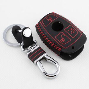 Fit For Benz C E S M R Class GLA CLE GLK Key Case Fob Shell Cover Case Bag Parts