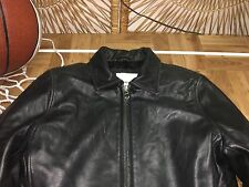 Womens Marc New York By Andrew Marc Black Leather Jacket petite ps/pp s12
