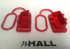 ANDERSON PLUG DUST COVER END CAP FOR SB 50 AMP CONNECTOR (RED RUBBER) - x2off