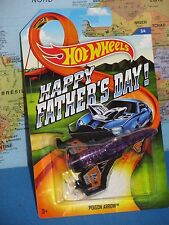 HOT WHEELS POISON ARROW AIRPLANE HAPPY FATHER'S DAY #3/4 ***BRAND NEW & VHTF***