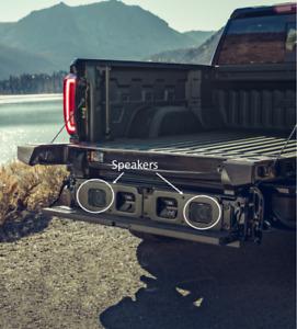 2019-2021 GMC Sierra 1500 MultiPro Tailgate Kicker Speaker System 19417163