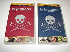MTV Jackass  VOL. 2 & 3 (PSP UMD Movies)  **NEW**