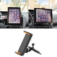 Universal 360° Rotation Car CD Slot Mount Holder Stand For Phone Tablet iPad .