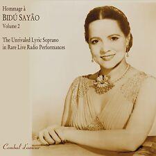 Bidu Sayao, The Legendary Lyric Soprano, Vol. 2