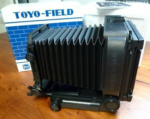 TOYO-FIELD 45AII BODY new condition with box and several EXTRAS