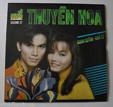 MANH QUYNH / KHA TU Vol.27 Thuyen Hua LASERDISC Song Album Nguoi Dep