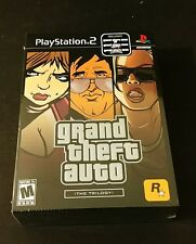 Grand Theft Auto: The Trilogy (Sony PlayStation 2) Brand New Factory Sealed​ PS2