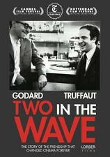 TWO IN THE WAVE NEW SEALED REGION 0 DVD W.S.  GODARD TRUFFAUT  FREE SHIPPING