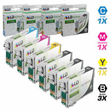 LD © Epson Reman for T125 Set of 6 Ink Cartridges T1251 T1252 T1253 T1254