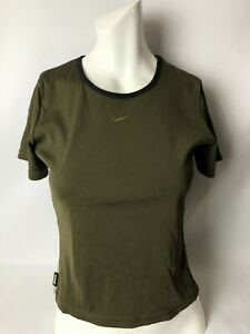 Ladies NIKE Lycra Gym Workout Aerobic T-Shirt Brand New With Tags
