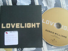 Robbie Williams – Lovelight Chrysalis – CDCHSDJ5162 Promo CD Single