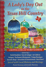 *BROWNWOOD TX *A LADY'S DAY OUT IN THE TEXAS HILL COUNTRY BOOK SHOPPING *HISTORY