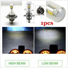 Motorcycle LED Headlight Replacement Kit H4 HS1 Lamp Bulb COB 40w White 6500K