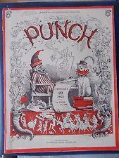 VINTAGE PUNCH MAGAZINE FEBRUARY 20th 1952 HUMOUR - CARTOONS - ADVERTS  FREE POST
