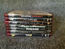 Lot of 7 HD DVD ACTION Aeonflux Bourne Batman Begins Riddick Fast Furious More