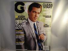 ORIGINAL **JOSH BROLIN AUTOGRAPH** GQ MAGAZINE JANUARY 2008 ISSUE COA