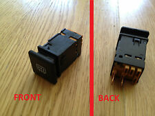 FIAT 127 MK3 2 POSITION BLACK DEMISTER HEATER REAR SCREEN SWITCH 5938889