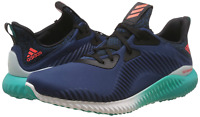 Adidas AlphaBounce Men's Running Shoes  AQ8215 Mineral Blue Trainers Brand New!
