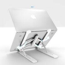 Adjustable Laptop Stand Desk Holders Plastic Riser Notebook Tablet 10-15.6 inch