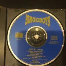 BINGO BOYS - HOW TO DANCE (5 Versions) 1991 MAXI CD Atlantic