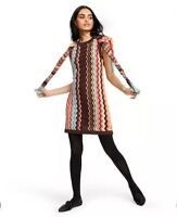NWT Women's Colore Zig Zag Sleeveless Sweater Dress - Missoni for Target XS
