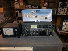 "ICOM IC -745 HF TRANSCEIVER AND ICM DESK MIC ""NICE"""