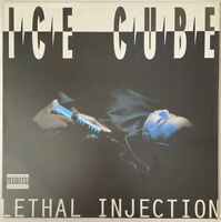 ICE CUBE LETHAL INJECTION LP PRIORITY 1993 UK PRESS NWA SOLO NR MINT PRO CLEANED