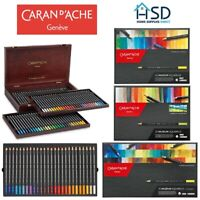 Caran d'Ache Museum Aquarelle Watercolour Pencils Drawing Art Sketching Sets NEW