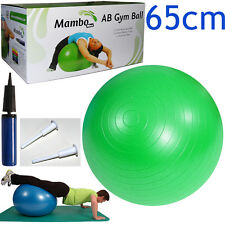 Msd PALLA PSICOMOTORIA ANTISCOPPIO 65cm + POMPA + 2 TAPPI pilates GYM SWISS BALL