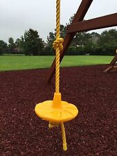 Disk Swing for Swing Sets yellow - NEW - Sturdy Quality