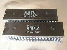 1 circuit Western Digital FD1795-PL Floppy Disk Controller