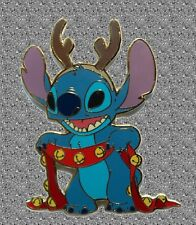 Stitch as a Reindeer Pin - DISNEY Shopping LE 500 - Proof Series Jumbo