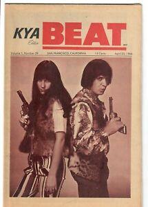 KYA Beat 1966 Magazine 1-39 Sonny & Cher THEM Gerry Marsden Batman The E Types