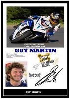 20.  GUY MARTIN   SUPERBIKES    TT    SIGNED   PHOTOGRAPH ++++++++++