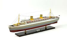 "SS Nieuw Amsterdam Dutch Ocean Liner Ship Model 36.5"" Museum Quality Scale 1:250"