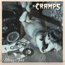 "The Cramps - Blue Fix 10"" EP Record Vinyl - BRAND NEW - Import"