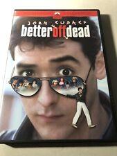 Better Off Dead (1985) Dvd John Cusack Cult Comedy Romance