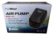 PetWorx Precision Aquarium Air Pump Single Fish Tank Aerator, Oxygen, Bubbles